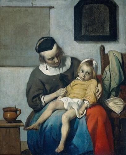 833px-Metsu,_Gabriel_-_Sick_Child,_the