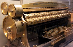 Machine à calculer de Leon Bollee, 1889. Musée des Arts et Métiers