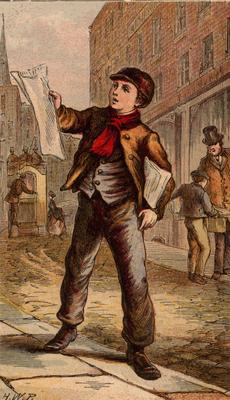 Horace William Petherick, ScËnes de Rue ‡ Londres