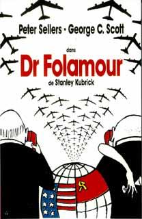 Affiche du film Dr. Folamour, Stanley Kubrick, 1964