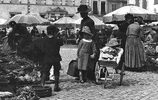 Fig. 1. La famille se rend au marché. Eugène Trutat, T312