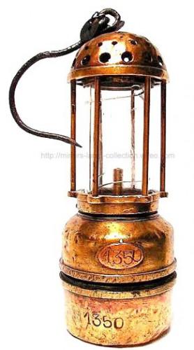 Lampe mineur