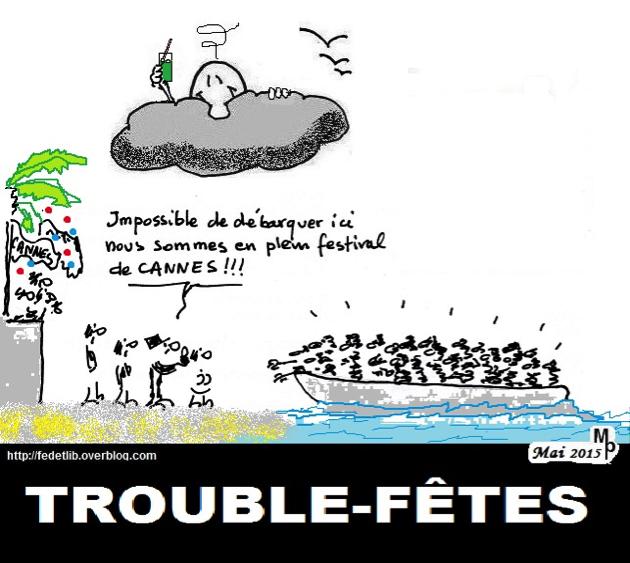 Croisières en Méditerranée, Page Facebook du Comité Editorial de Mondes Sociaux, le 2 juin 2015