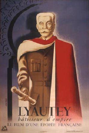 Affiche du film Lyautey, bâtisseur d'Empire, René Lucot, 1946