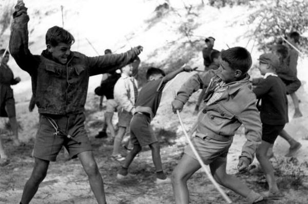 Capture d'écran La guerre des boutons, Yves RObert, 1962