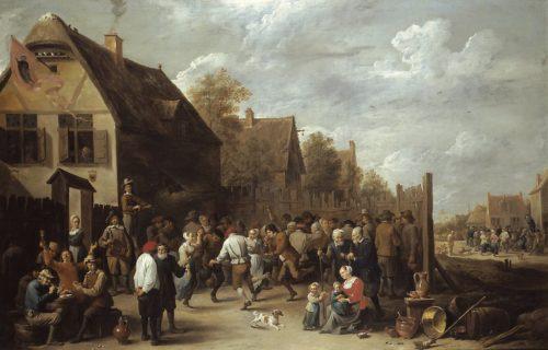 PAYSANS : TOUS DES PLOUCS ? et perdus pour un avenir révolutionnaire ?  David_Teniers_the_Younger_-_Village_Festival-500x320